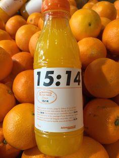 Le jus 15:14 est le fruit d'une tradition qui se transmet de génération en génération depuis 15:14 ! #LeJusLePlusFrais #Intermarché #Fruits