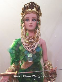 OOAK  Lady of the Lake Design by Shari Depp by ShariDeppDesigns, $199.00