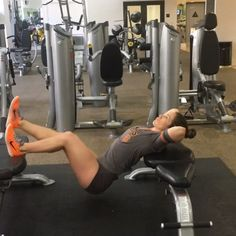 Leg day part 2  Elevated single leg bridge :: press through your heel focus on squeezing your glute at the top. 3 X 15 each leg  Dumbbell deadlifts :: keep a slight bend in your knees 3 X 20