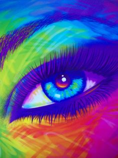 Lisa Frank Eye Folder by xClaribelx, via Flickr