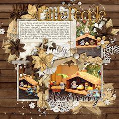 A Christmas Wonderland: Joyful by Kristin Cronin-Barrow   Squarely Yours (Freebie) by Brook Magee   DJB Bailey & Meddon fonts