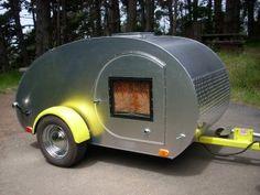 Renting teardrop campers