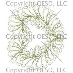 Delicate Stitch Quilting Designs