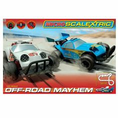 Micro Scalextric 1:64 Off-Road Mayhem at debenhams.com