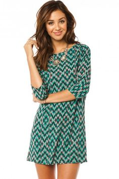Holiday Aubert Shift Dress