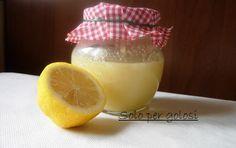 Pasta di limone ... per insaporire le creme o qualsiasi dolce che vogliamo fare al limone.