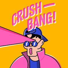 Crush Bang / 이찬 (이짜나언짜나) - genie