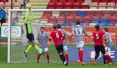 Queen's Park's Andy Murphy in action during the Ladbrokes League One game between Brechin City and Queen's Park.