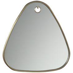 Intercule Home Bella Triangular Mirror - Antique Brass 325046