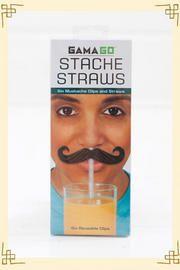 Stache Straws - I think YES!