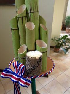 Farol de caña azúcar hecho con materiales reciclados para el 14 de Septiembre Costa Rica Costa Rica, Recycled Crafts, Ideas Para, Recycling, Tableware, Handmade, Geo, Home Decor, Diana