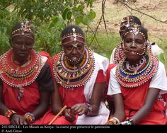 21è siècle : Les Masaïs au Kenya, la course pour préserver le patrimoine.  Masai people are culturally and ethnically close to Oromo