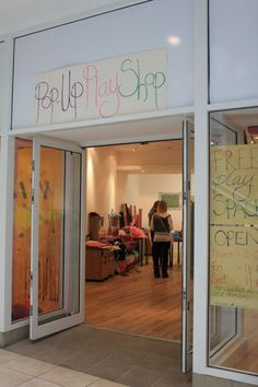 Pop-Up Play Shop