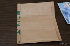 Lifehack: Transform a Starbucks paper bag into a fully functional wallet! | SoraNews24 -Japan News-