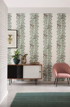 Gorgeous wallpaper design featuring monkeys by Cole and Sons.