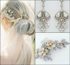 Get gorgeous accessories to match your dress with Paris by Debra Moreland and more from @perfectdetails → perfectdetails.com