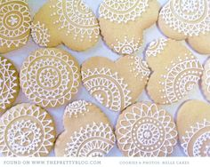 Gorgeous iced cookies from Nelle Cakes, Cape Town