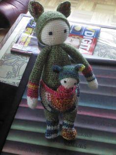 KIRA the kangaroo made by Annegret P.