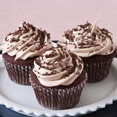 In Celebration of Chocolate Cup Cake Day! Gluten Free Cupcakes, Gluten Free Sweets, Baking Cupcakes, Yummy Cupcakes, Gluten Free Baking, Cupcake Cakes, Drunken Cupcakes, Cupcake Ideas, No Bake Treats