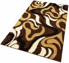 Details:  Grafisch gemustert, Hochflor-Teppich,  Qualität:  Maschinengewebt, 2 kg/m² Gesamtgewicht, 30 mm Gesamthöhe,  Flormaterial:  100% Polypropylen,  ...