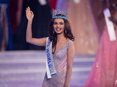 Manushi Chhillar Miss World 2017.