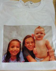 Camisetas com fotos dos seus filhos