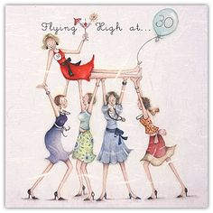 Flying High at 30 / Ladies Who Love Life - by Berni Parker