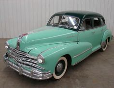 This is the car Dexter was driving in Los Angeles in 1950. Buick Torpedo.