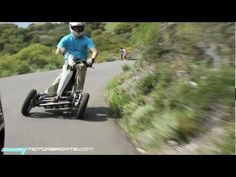 Sway at the Park. Three wheel electric scooter that looks like it would be some sporty fun!