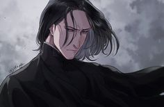 Magia Harry Potter, Harry Potter Severus Snape, Harry Potter Drawings, Harry Potter Anime, Harry Potter Facts, Harry Potter Fan Art, Harry Potter World, Draco Malfoy, Hermione Granger
