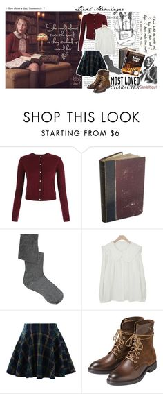 """""""•most loved book character - LIESEL MEMINGER•"""" by gandalfsgurl ❤ liked on Polyvore featuring ASOS, Chicwish and GANT"""