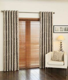 Natural and Gold Curtains Venice Mink