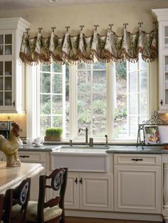 Looking to add style, privacy and light control to your kitchen? Get inspired by these chic kitchen window shades and valances featured on HGTV.com.