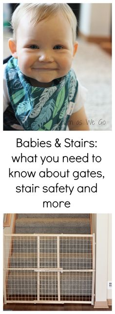 It's Baby Safety month and I have a post for you all about stair safety. If you have a crawling baby, this is a must read post. Also, I teamed up with Owlet Baby Monitors and they are doing a giveaway! They're giving away 4 awesome prizes including an Owlet! If you don't know what that is, trust me, you'll want one. Enter the giveaway at the bottom of my post. #sponsored