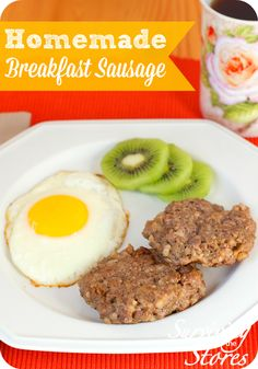 These Gluten-Free Breakfast Sausage Patties are Paleo, Low Carb, & THM friendly! This simple sausage recipe tastes better than store bought and will save you money!