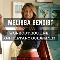 Melissa Benoist Workout Routine and Diet