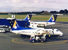 Ansett New Zealand De Havilland DHC-DHC-8-100 (ZK-NEU)