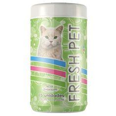 Lenço Umedecido Gatos Pet Mais - Meuamigopet.com.br #cat #cats #gato #gatinho #bigode #muamigopet