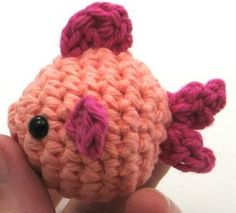 free crochet pattern baby puffer fish