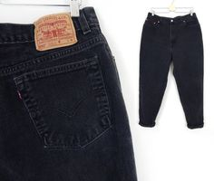Plus Size Vintage Levi's 550 High Waisted Jeans -  Size 18