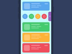 UI Animation Concept  by Alla Kudin