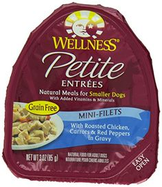 Petite Entrees Mini-Fillets w/Roasted Chicken (Case of To check this awesome product by going to the link at the image. (This is an affiliate link and I receive a commission for the sales) Roasted Carrots, Roasted Chicken, Pepper Gravy, Grain Free Dog Food, Red Chicken, Wet Dog Food, Cat Treats, Dog Snacks, Dog Food Recipes