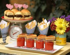 5 Recipe For Love Bridal Shower, A Food, Food And Drink, Mini Foods, Food Items, Cooking Time, Catering, Treats, Blog