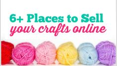 Six Places to Start Selling Crafts Online