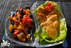 Kurkumás csirkeérmék Stuffed Peppers, Vegetables, Food, Turmeric, Stuffed Pepper, Essen, Vegetable Recipes, Meals, Yemek