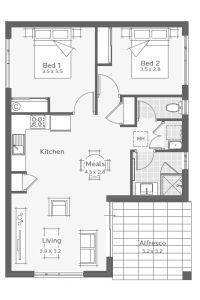 Yallingup Granny Flat Floorplan