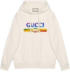510cbf3a8e1 Gucci Sweatshirt with sequin logo Gucci Sweatshirt