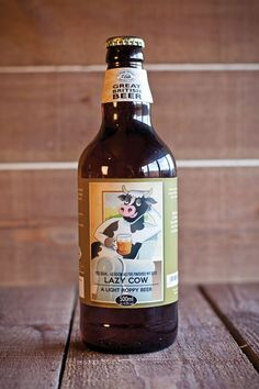 Lazy Cow Beer is a light, hoppy beer made with an aromatic floral aroma using Lager and Wheat Malts having a generous helping of Goldings and Cascade Hops to give a wonderful hoppy finish. Made at our own brewery in the heart of the Staffordshire Moorlands countryside. A great British beer to wet your whistle.