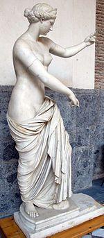 Afrodite de Cápua, cópia romana de 310-200 a.C. no Museu Arqueológico de Nápoles