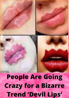 People Are Going Crazy for a Bizarre Trend 'Devil Lips' Celebrity News, Celebrity Style, Hollywood Style, Daily Memes, Celebs, Celebrities, Going Crazy, Edgy Memes, Pakistan